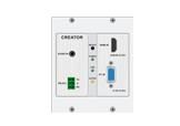 HDBaseT series wallplate CAT5 transmitter