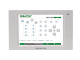 6.4 inch wall-mounted touch screen