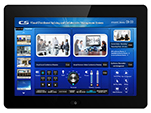 8 inch wall mount programmable touch panel